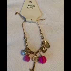 Crown and ivy bracelet NWT